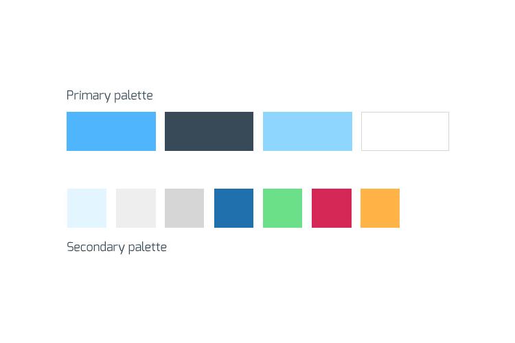 4D-monitoring paleta boja