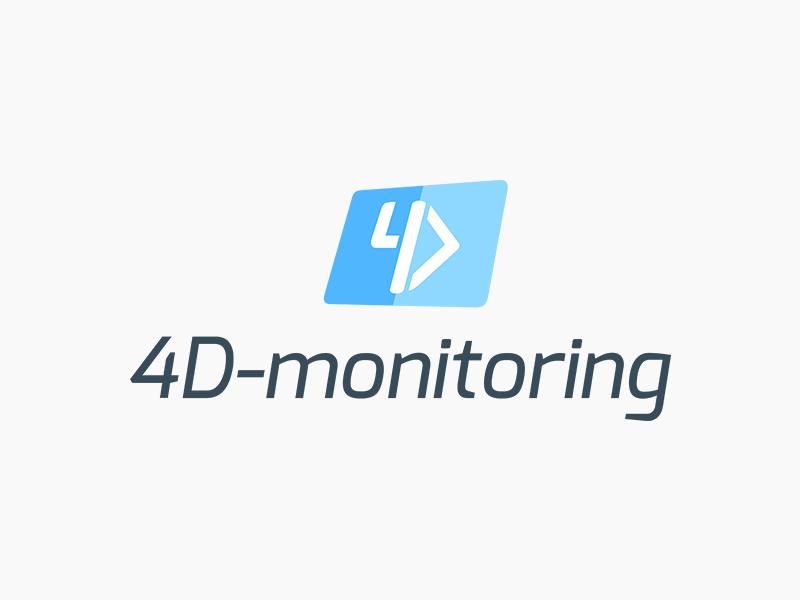 4D-monitoring vizualni identitet