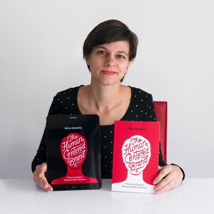 Nela Dunato, dizajnerica i autorica knjige The Human Centered Brand