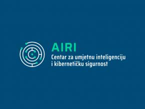 Logotip i vizualni identitet Centra za umjetnu inteligenciju i kibernetičku sigurnost