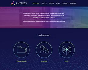 Antares web stranica