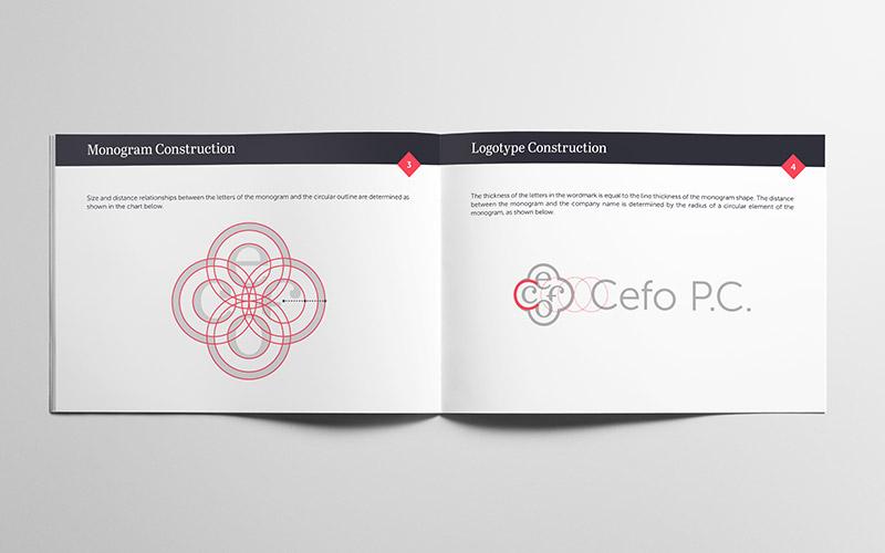 Cefo P.C. vizualni identitet - knjiga standarda