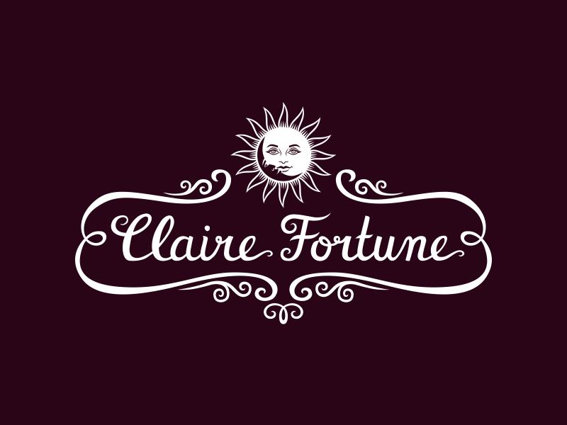 Claire Fortune vizualni identitet