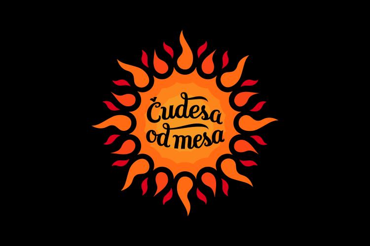 Dizajn logotipa i vizualnog identiteta Čudesa od mesa