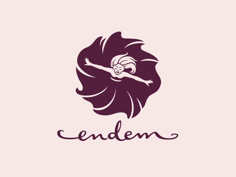 Endem logotip i vizualni identitet