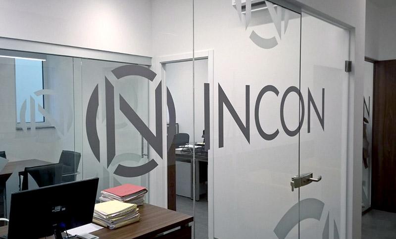 Incon vizualni identitet - naljepnice za uređenje ureda