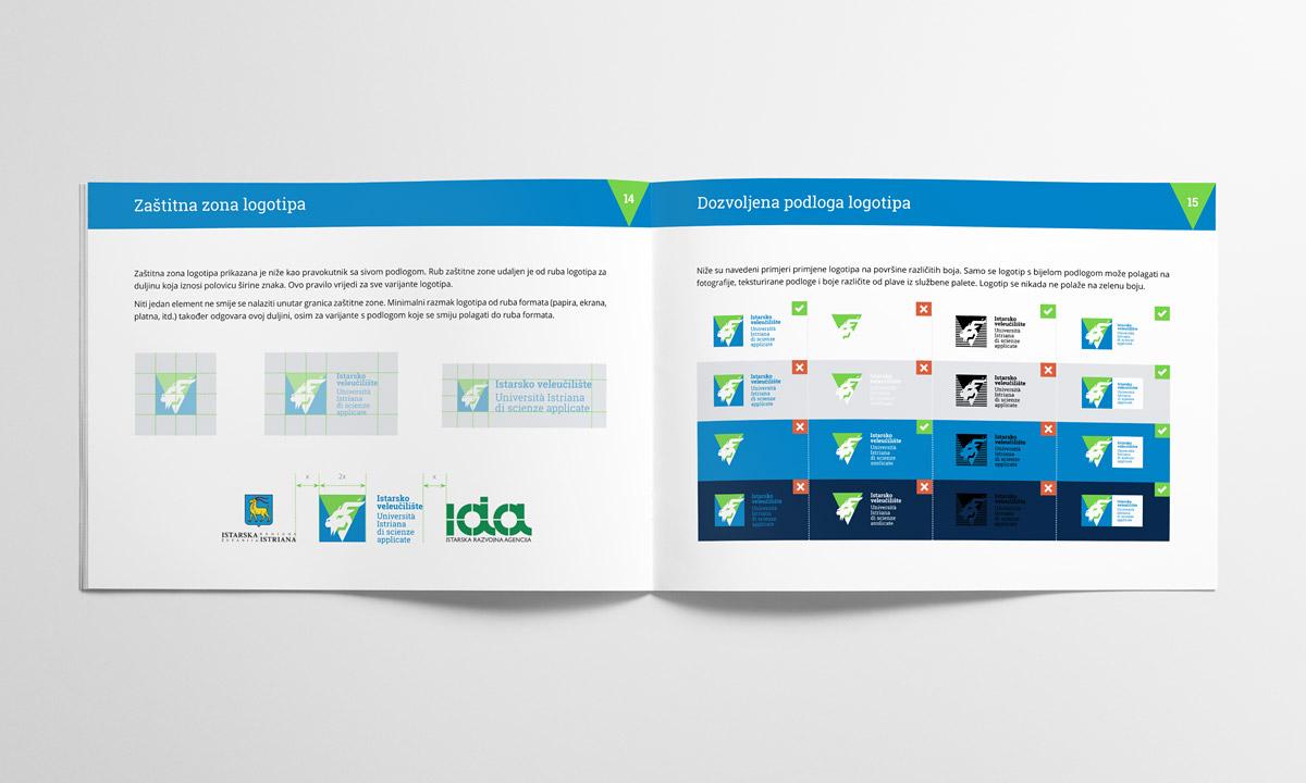 Istarsko veleučilište vizualni identitet - Knjiga standarda
