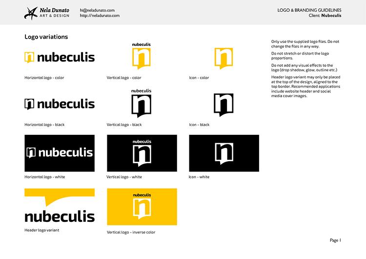 Knjiga standarda - varijante logotipa