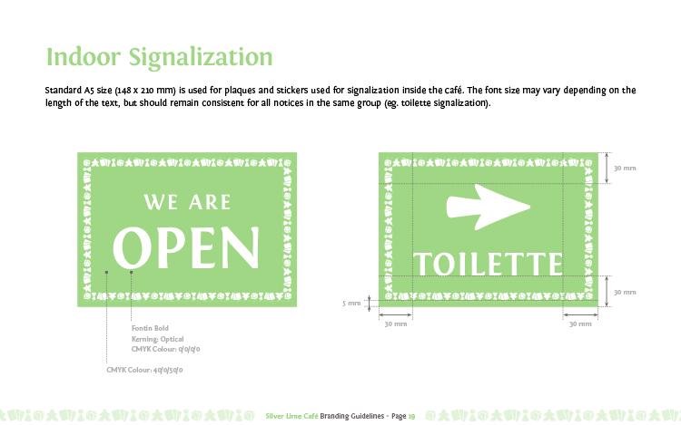 Knjiga standarda - prostorna signalizacija