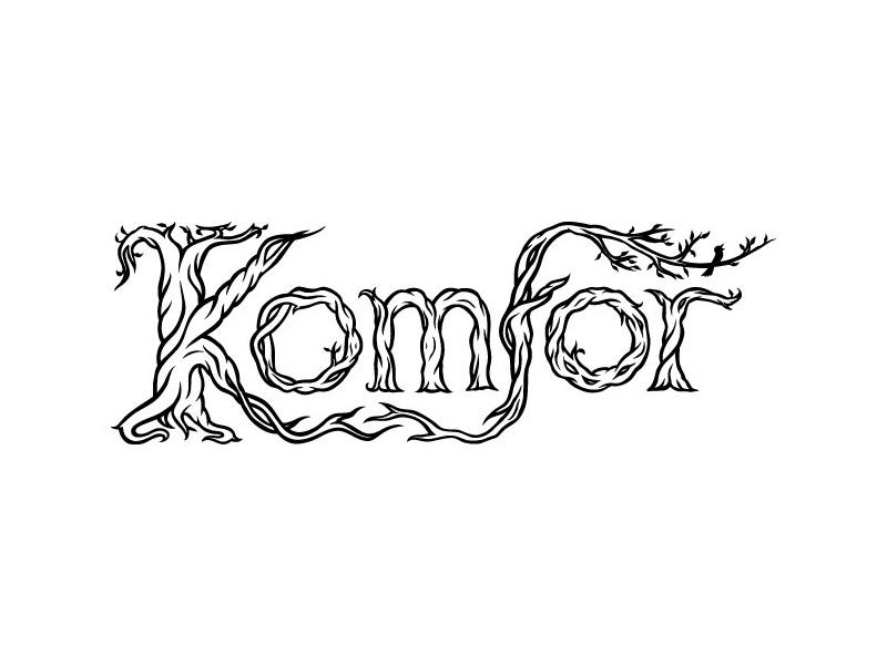 Komfor band logo