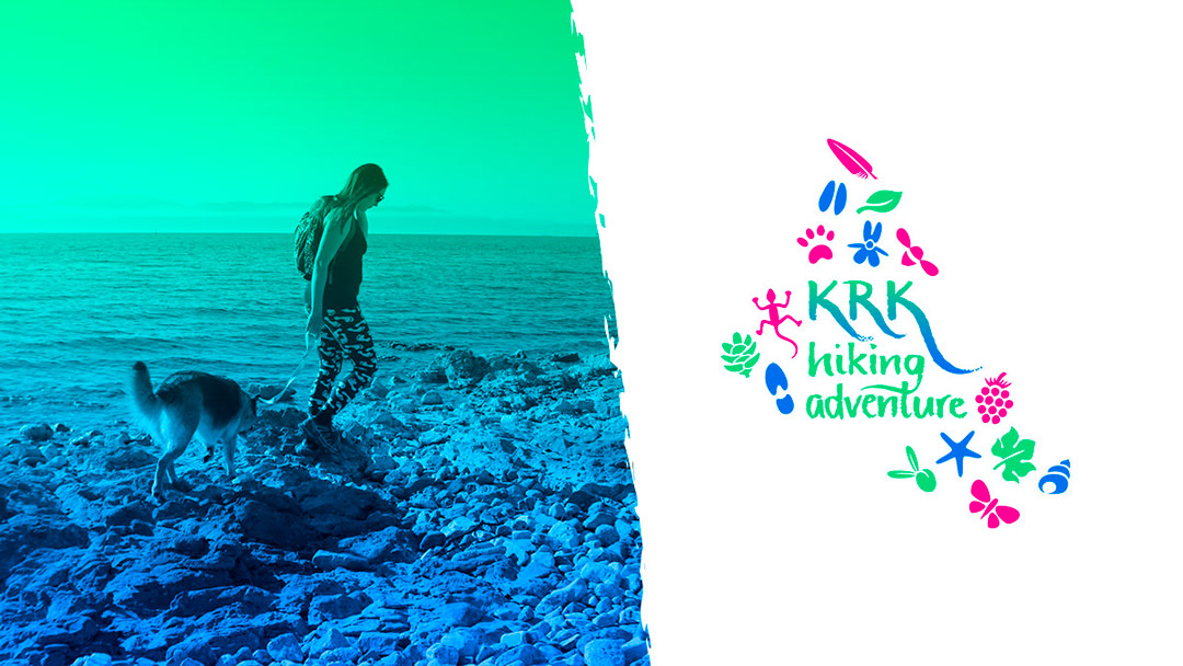 Krk Hiking Adventure dizajn za društvene mreže - Facebook cover slika