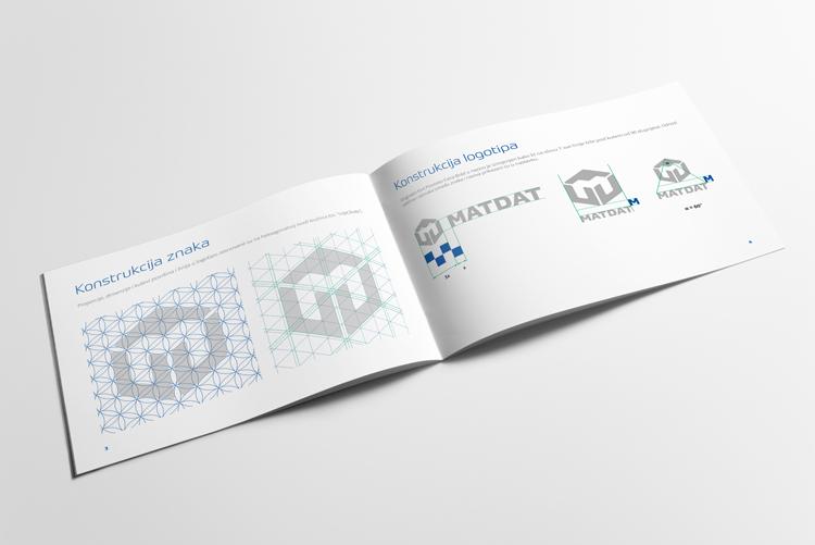 MATDAT vizualni identitet - knjiga standarda