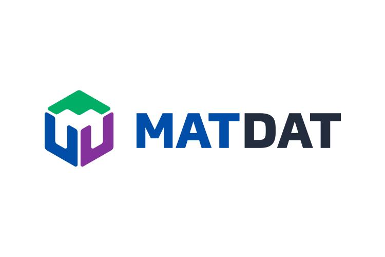 MATDAT logo horizontalni