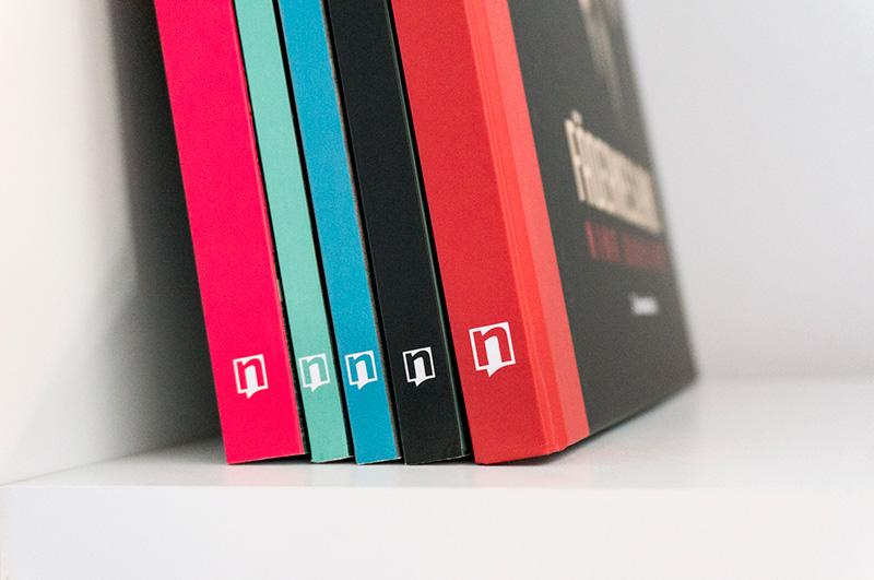 Nubeculis vizualni identitet - dizajn korica knjiga