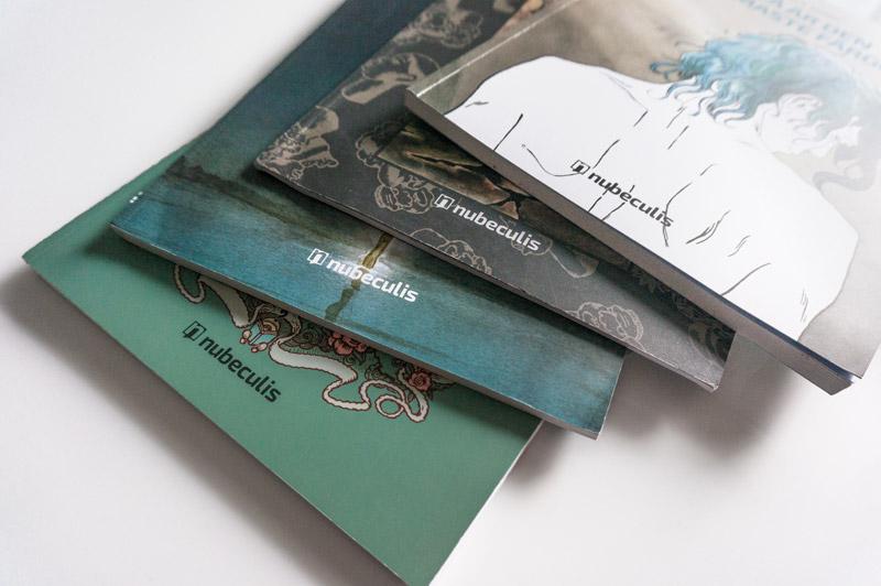 Nubeculis grafički dizajn knjiga