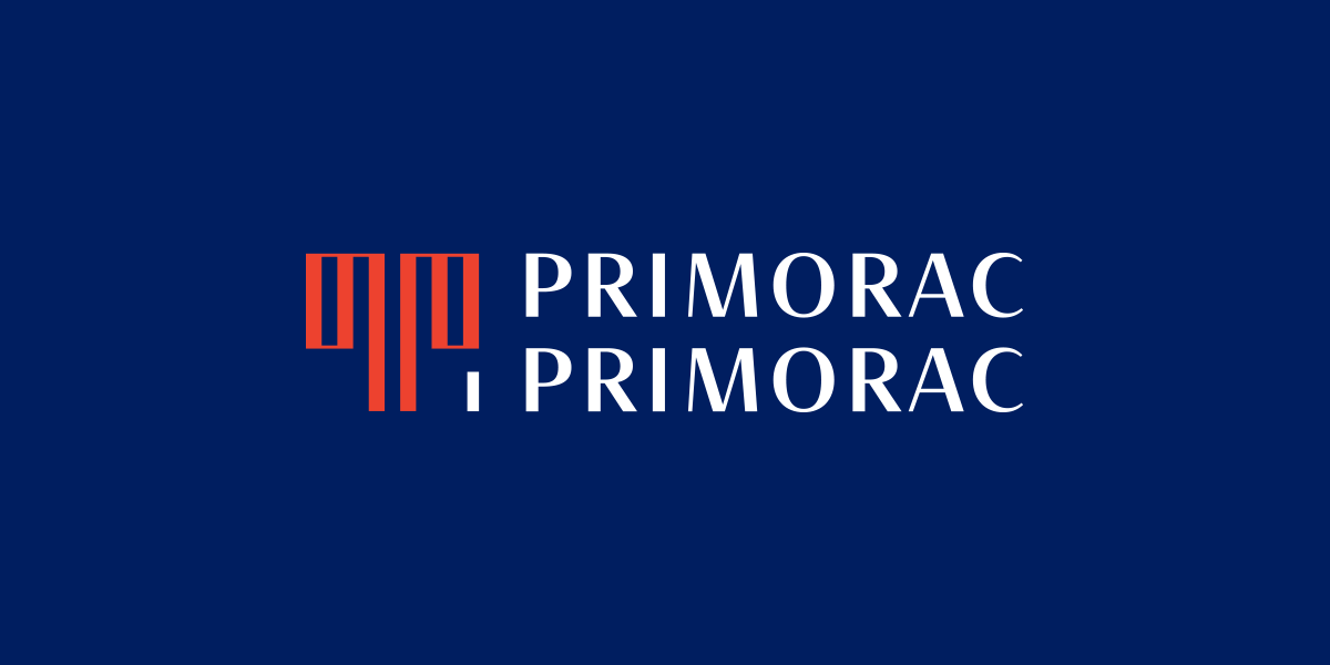 Dizajn logotipa za odvjetnički ured Primorac i Primorac
