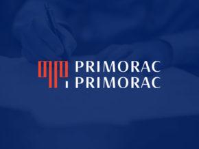 Logo i vizualni identitet za odvjetnički ured Primorac i Primorac