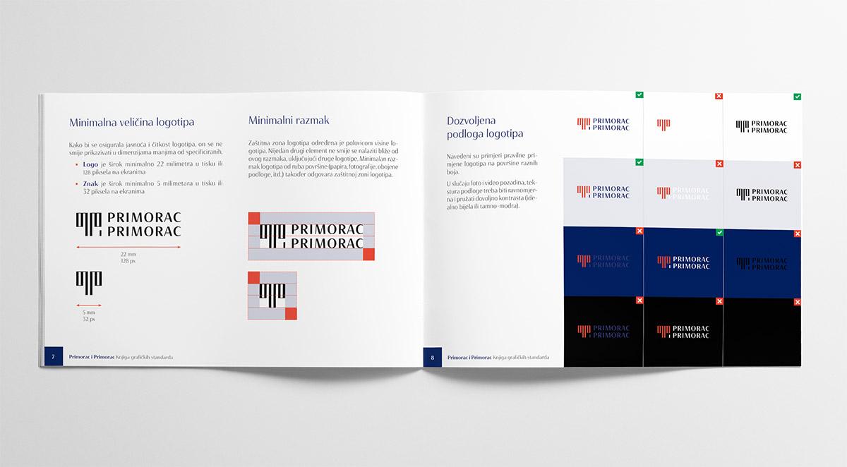 Vizualni identitet odvjetničkog ureda Primorac i Primorac: Knjiga standarda