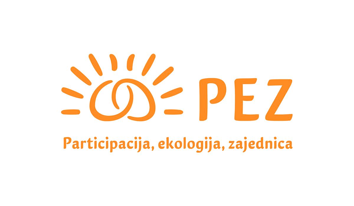 Udruga PEZ logotip i slogan
