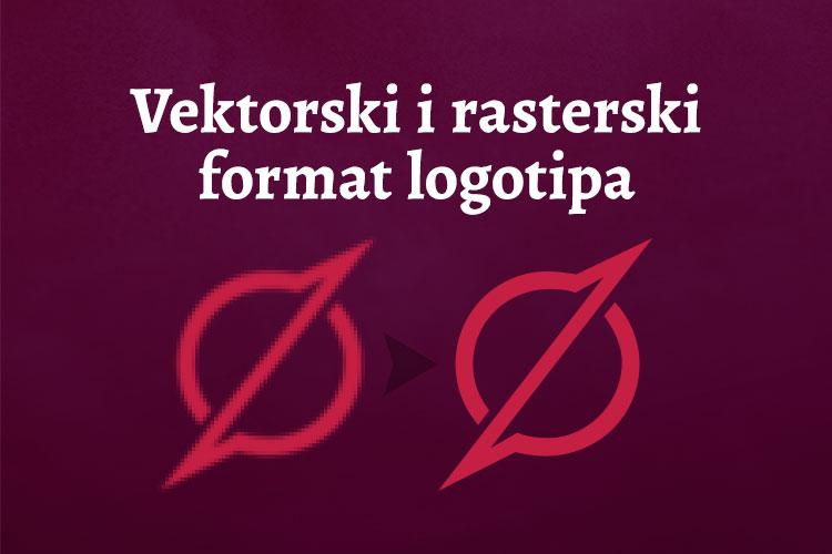 Vektorski i rasterski format logotipa