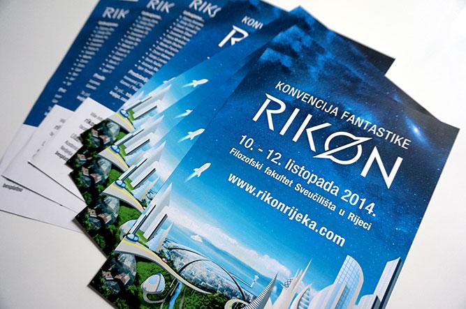 Grafički dizajn letaka za Rikon 2014