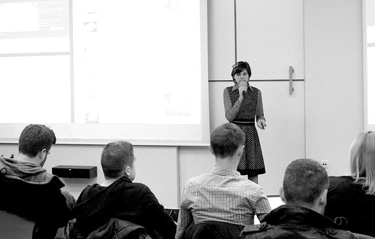 Predavanje Nele Dunato na WordPress Meetup Zagreb