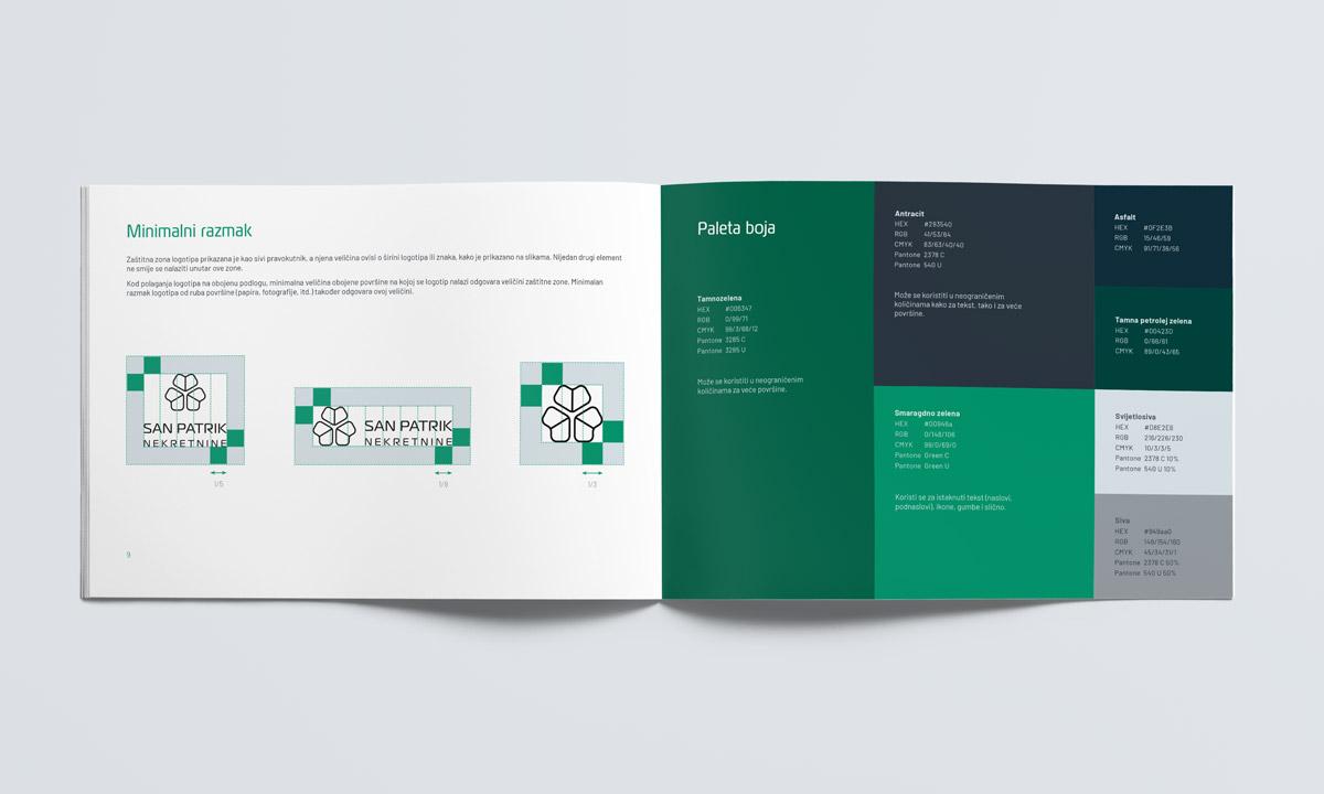 Vizualni identitet agencije za nekretnine - knjiga standarda