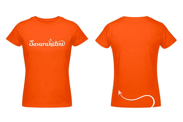 Savarakatini vizualni identitet - dizajn majice