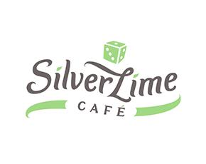 Silver Lime Cafe logo i vizualni identitet