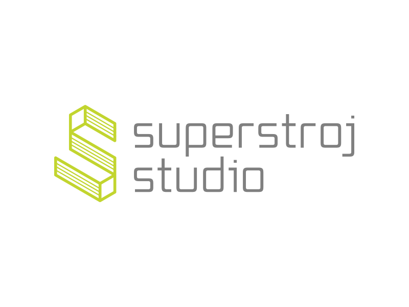 Superstroj studio vizualni identitet