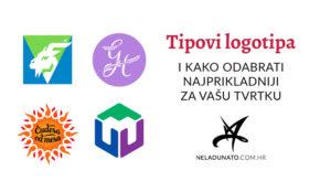 Tipovi logotipa i kako odabrati najprikladniji za vašu tvrtku
