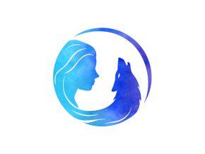 Wild Moon Spirit logo dizajn